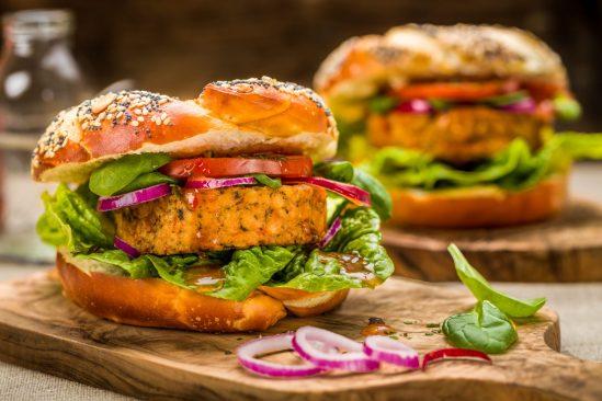 Recette burger végétarien