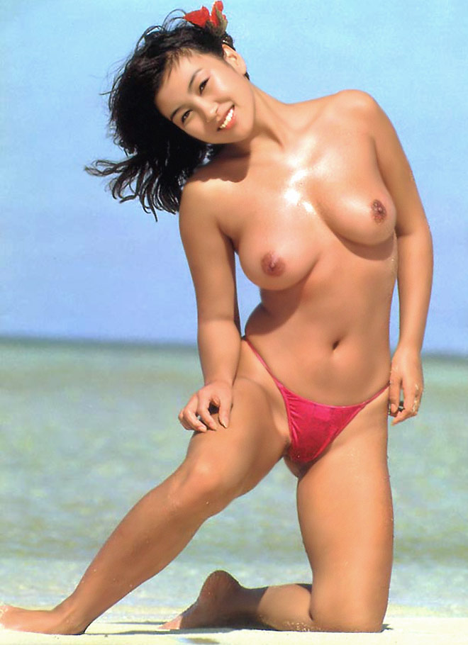Japanese gravure model, AV actress and pink film actress Aya Misawa nude photos
