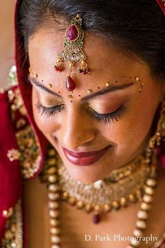 Indian bride makeup for Indian wedding