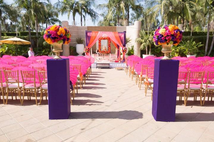 Indian-wedding-ceremony-palki-walk-down-the-aisle-Hindu-Jain-phere-mandap