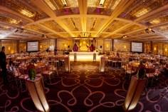 Beautiful Grand Ballroom at the Hyatt Regency Long Beach