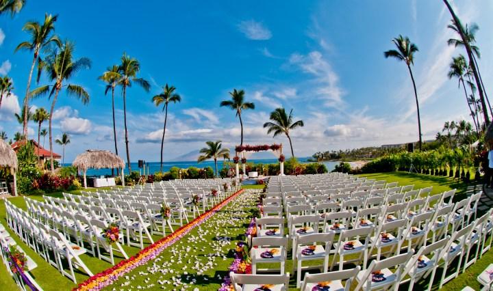 Indian wedding ceremony Maui