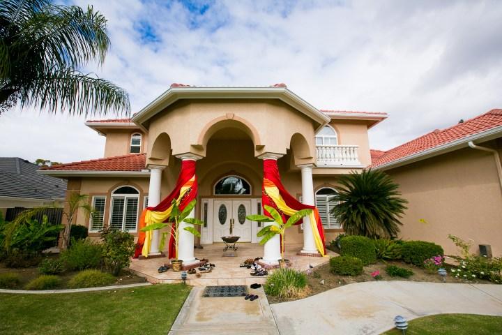 home setup decor for Indian wedding