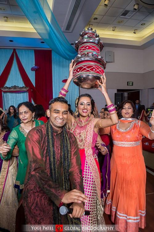 Jago at a Punjabi wedding sangeet night