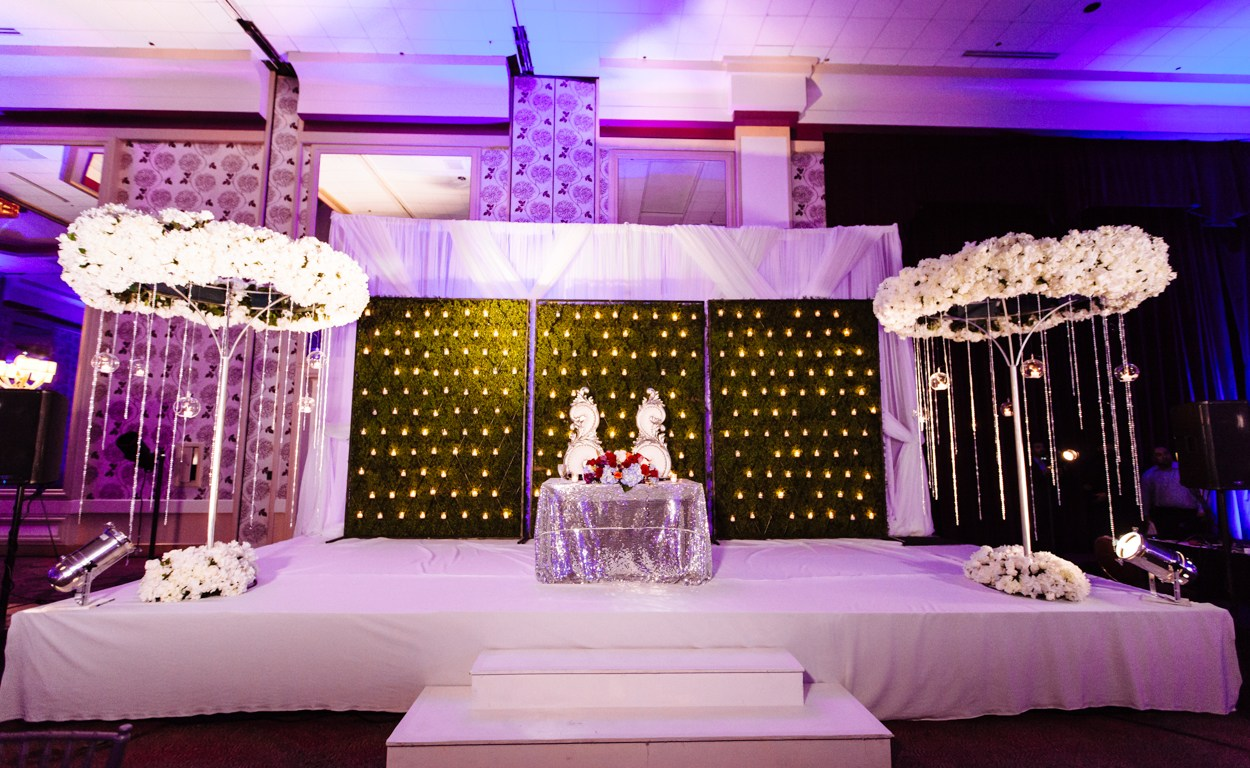 Purple Decor 2 Indian Wedding Venues California