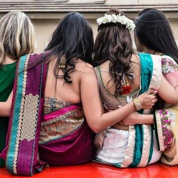 Neena-Chintan-Indian-wedding-venue-Hotel-Irvine-wedding-ceremoy-brides-friends-vidai-convertible