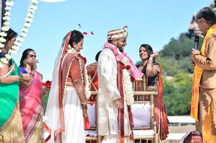 Rakhee-Amrish-gift-exchange-Indian-wedding-venue-photography-Greycard-Hindu-outdoor-dresses-bride-groom-vineyard-South-Asian-wedding-phere