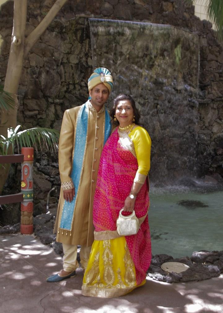 Ashmi-Suraj-Indian-wedding-venue-Hindu-Jain-ceremony-groom-mom