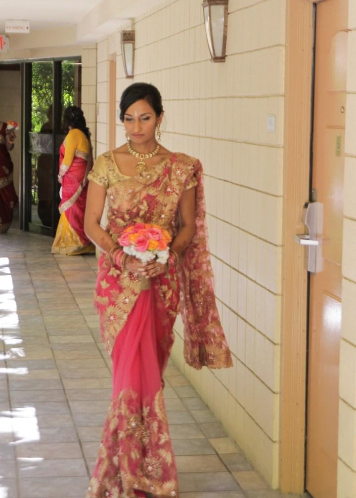 Ashmi-Suraj-Indian-wedding-venue-baraat-Hindu-Jain-San-Diego-reception-wedding-party-brides-sari