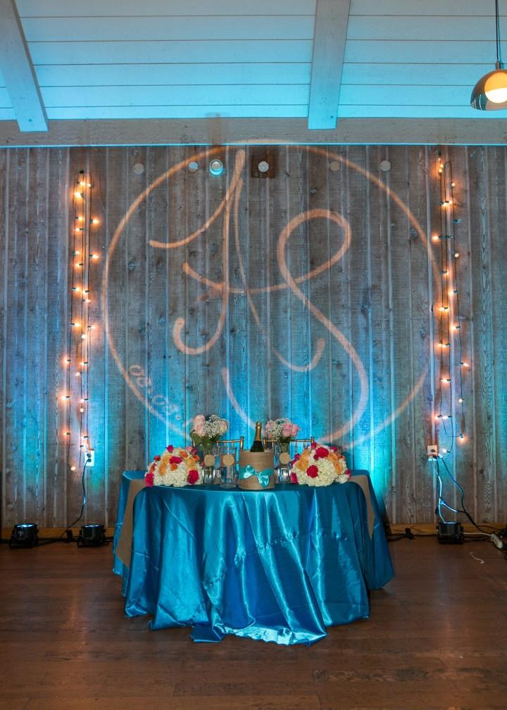 Ashmi-Suraj-Indian-wedding-classic-car-photoshoot-reception-bride-groom-sweetheart-table