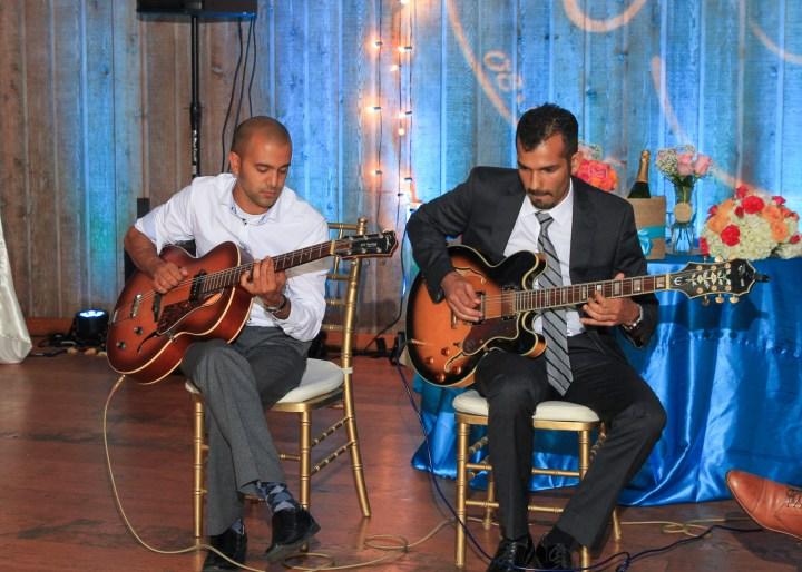 Ashmi-Suraj-Indian-wedding-venue-Hindu-Jain-ceremony-San-Diego-reception-performance-guitar