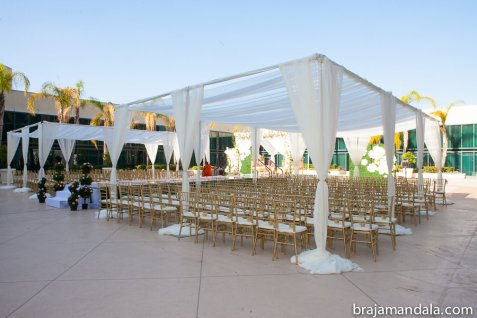 Indian wedding venue for $100K budget at the Hilton Anaheim