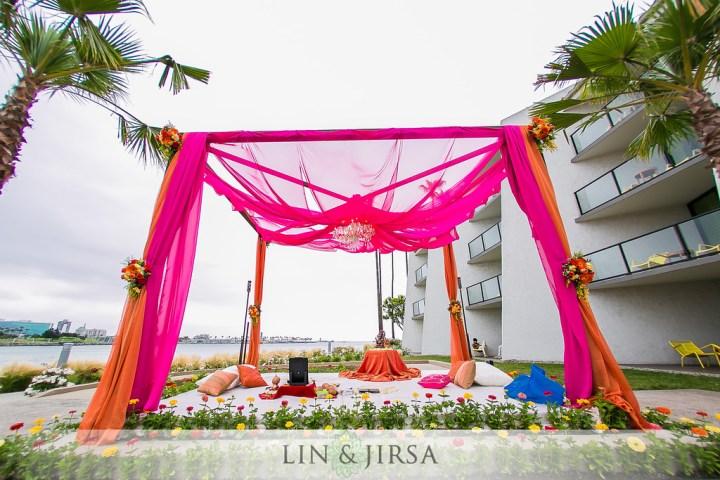 1-Hotel-Maya-Indian-wedding-South-Asian-ceremony-Hindu-Mandap-baraat-Vista del Mar-134