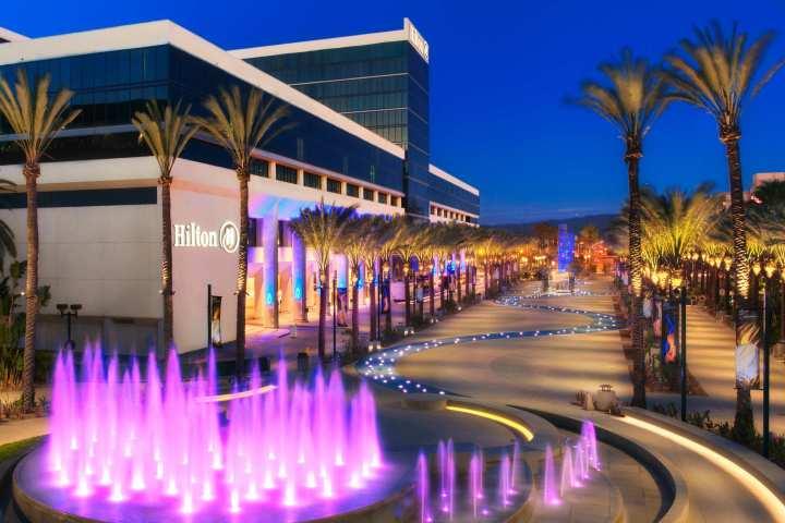 The beautiful Hilton Anaheim