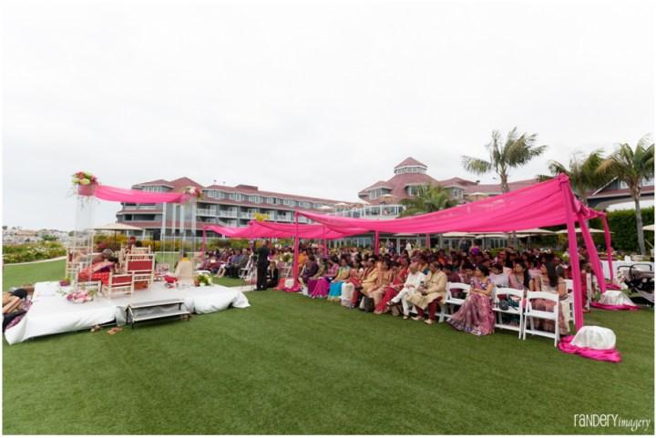 Indian wedding at Laguna Cliffs Marriott