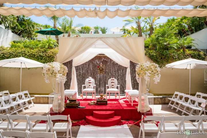 The Westin South Coast Plaza is one of the best Indian wedding venues are in southern California with a $100K budget