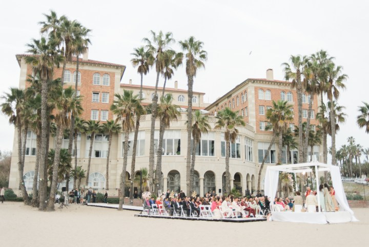 Indian wedding at Casa del Mar