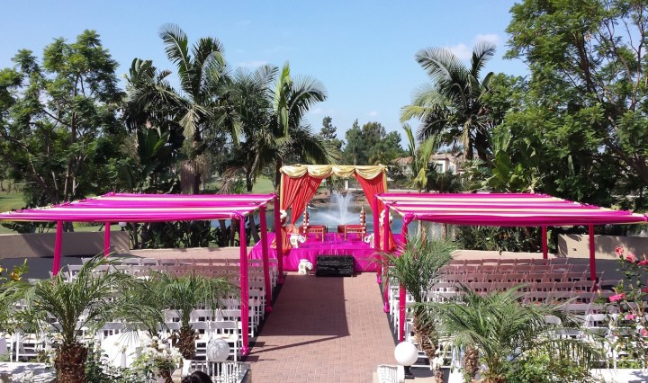 Indian wedding at Tustin Ranch Golf Club