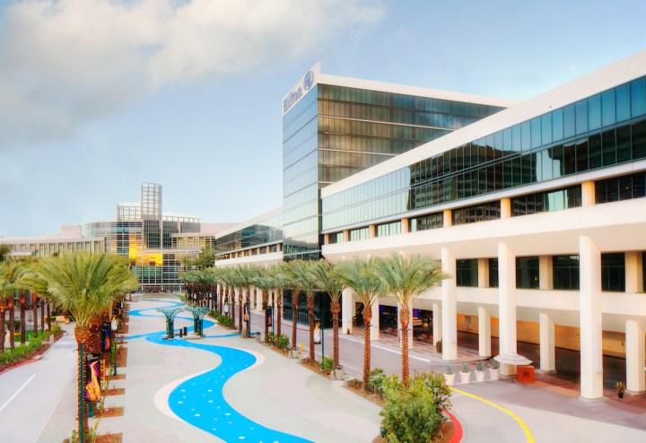 The Hilton Anaheim Garden Plaza