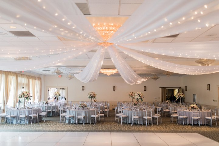 Wedding reception at Moorpark Country Club