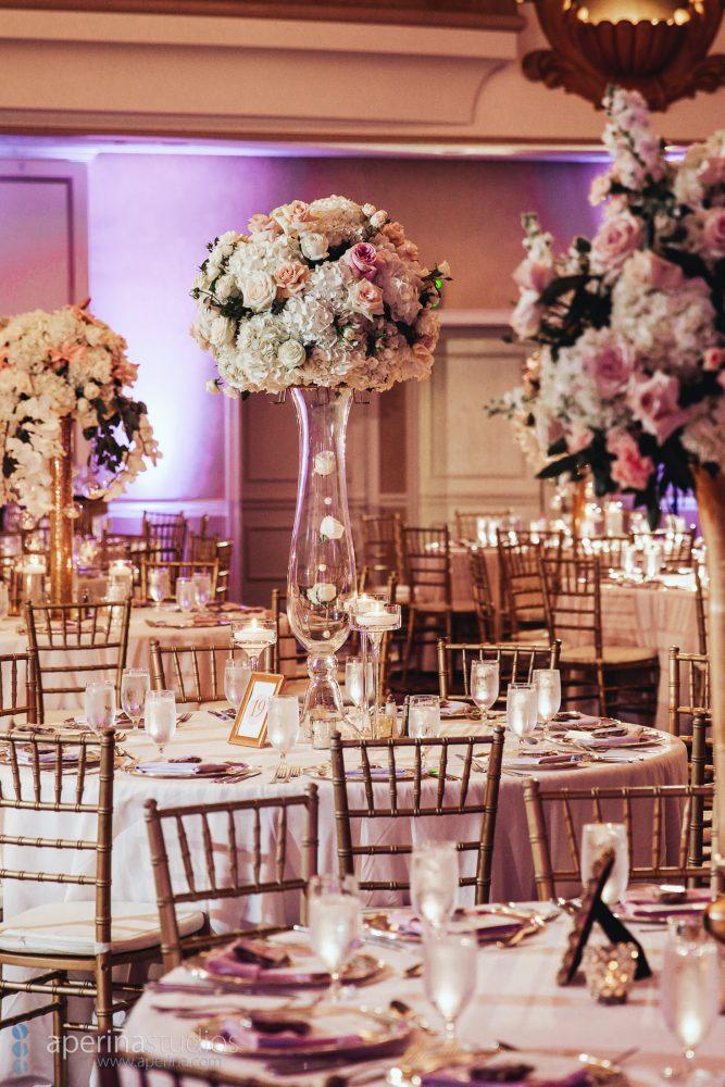 Indian wedding reception at the Fairmont San Francisco