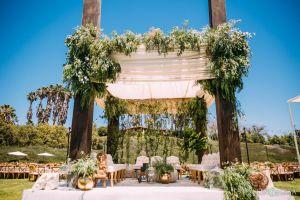 Indian wedding mandap at Ethereal Open Air Resort.