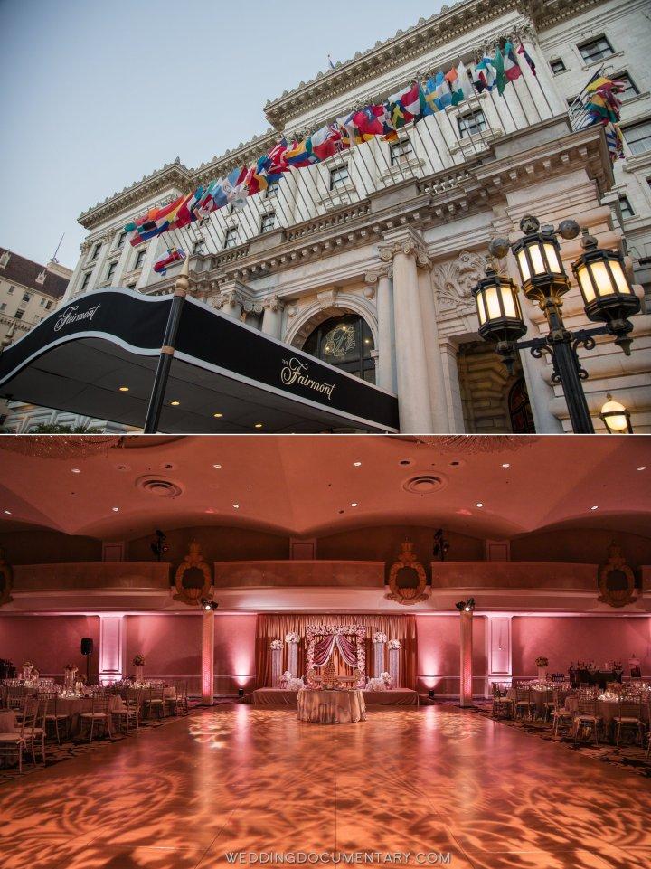 Indian wedding venue Fairmont San Francisco
