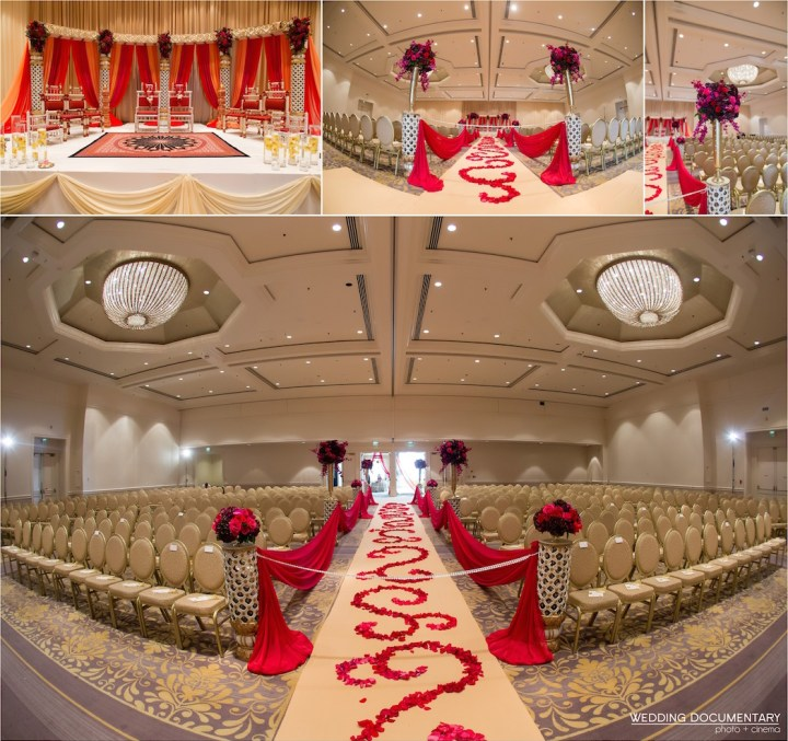 Indian wedding ceremony at the Fairmont San Jose