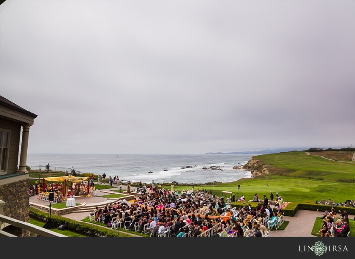 Indian wedding at The Ritz-Carlton Half Moon Bay