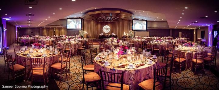 Indian wedding reception at Arizona Biltmore