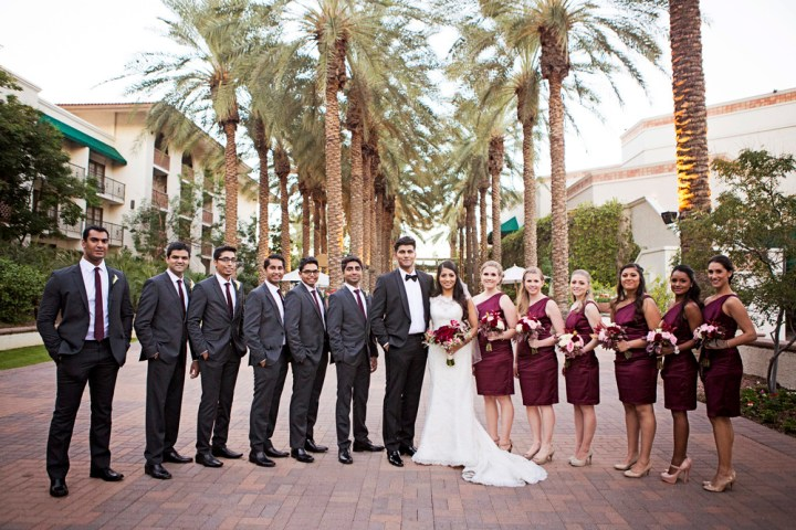 Indian Christian wedding Arizona Grand Resort