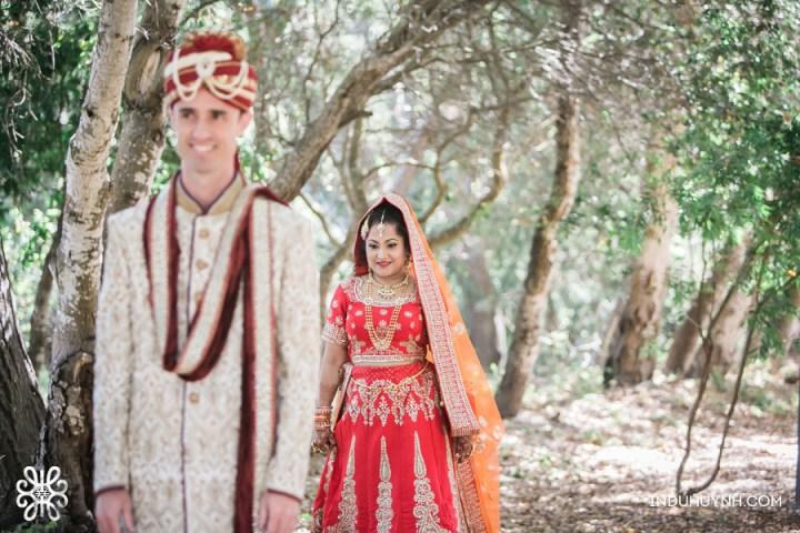Indian wedding photo session at Chaminade Resort & Spa