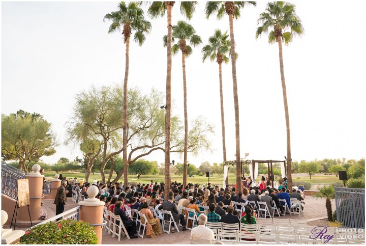 Indian wedding ceremony Scottsdale Marriott at McDowell Mountains