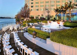 Wedding ceremony at the Pullman San Francisco Bay