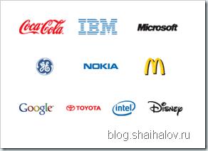 10ка лучших брендов