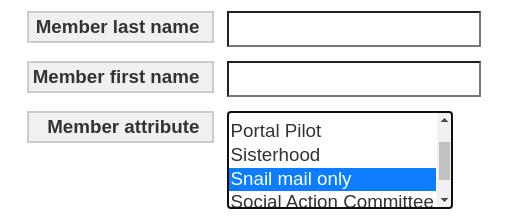 Yahrzeit query by member attribute
