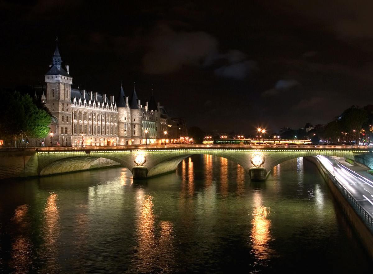 The Conciergerie & River Seine, Paris, France