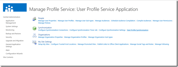 Sharepoint synchronization
