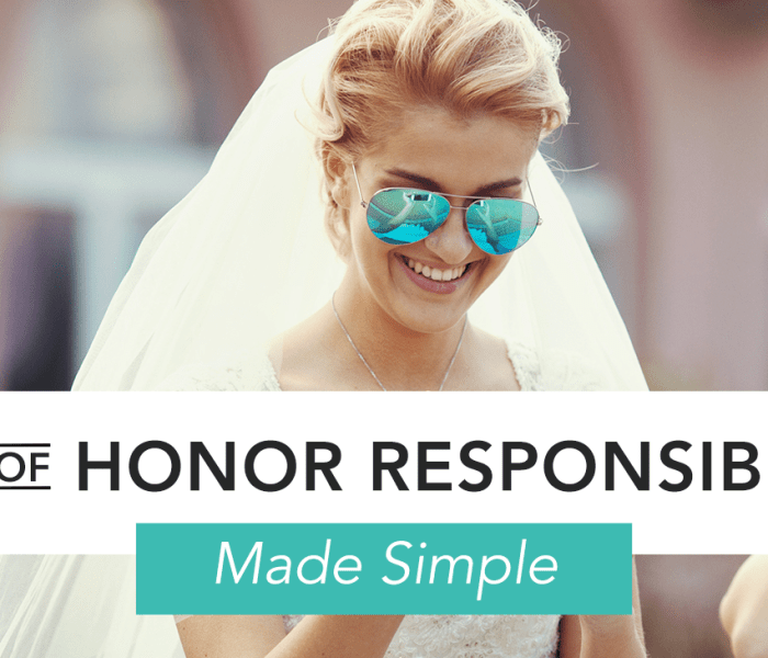 5 Ways To Be A Killer Maid Of Honor