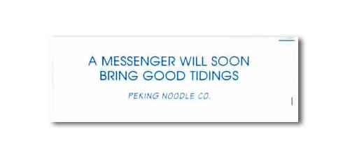 A Messenger Will Soon Bring Good Tidings