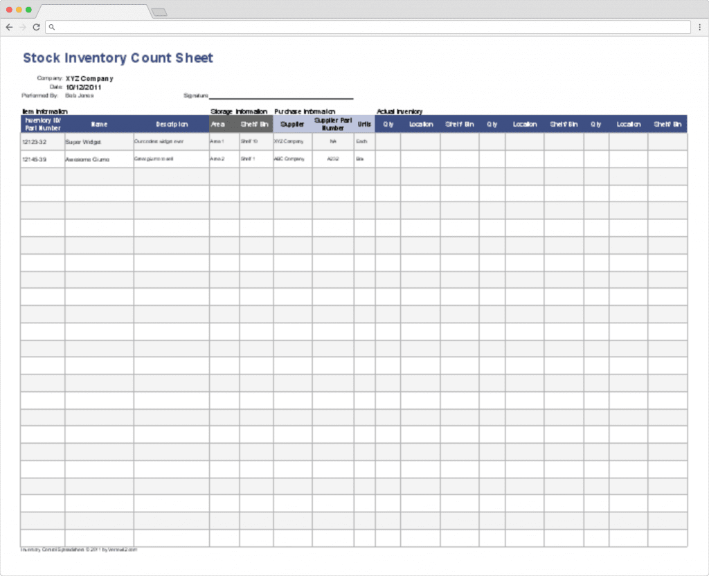 Top 10 Inventory Tracking Excel Templates Blog Sheetgo