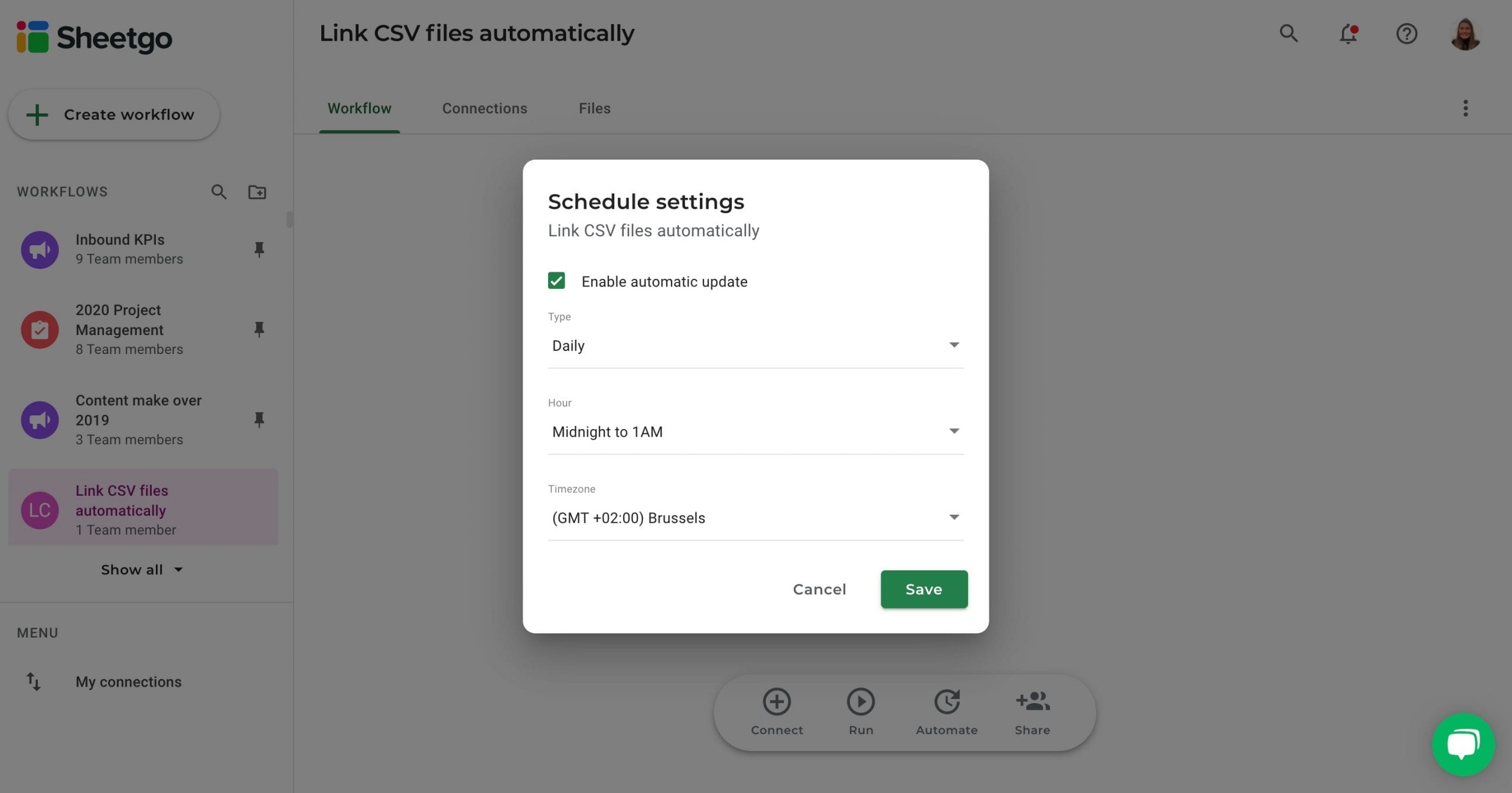 Link Csv To Excel Files Automatically