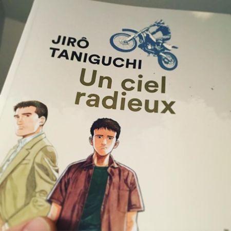 """""""Un ciel radieux"""" de #jirotaniguchi c'est une merveille  (Et rend l'adaptation francaise d'autant plus belle)"""