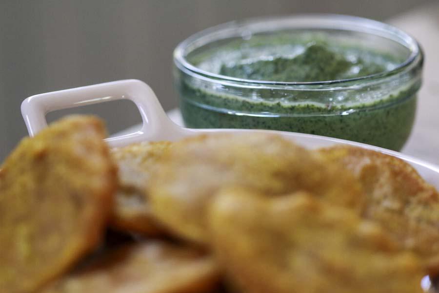 Chutney à la menthe (pudina chutney) par Epices Shira