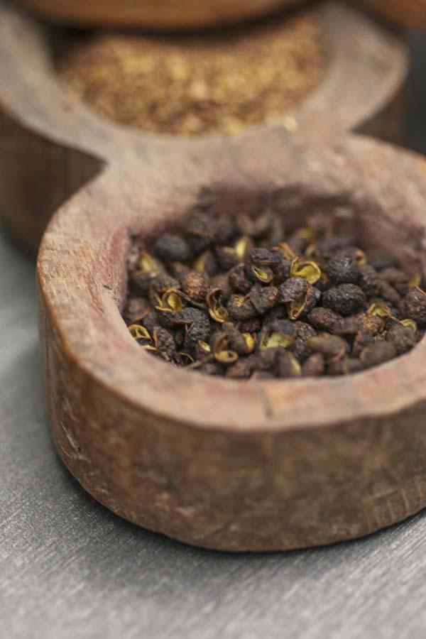 Cacao glacé, sumac & timur, une recette de Epices Shira