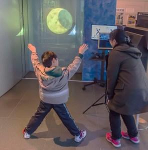 2015年1月より常設展示となった「全身太陽圏」