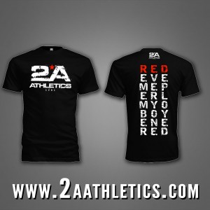 "2A Athletics shirt, this one represents the ""athletes"" overseas."
