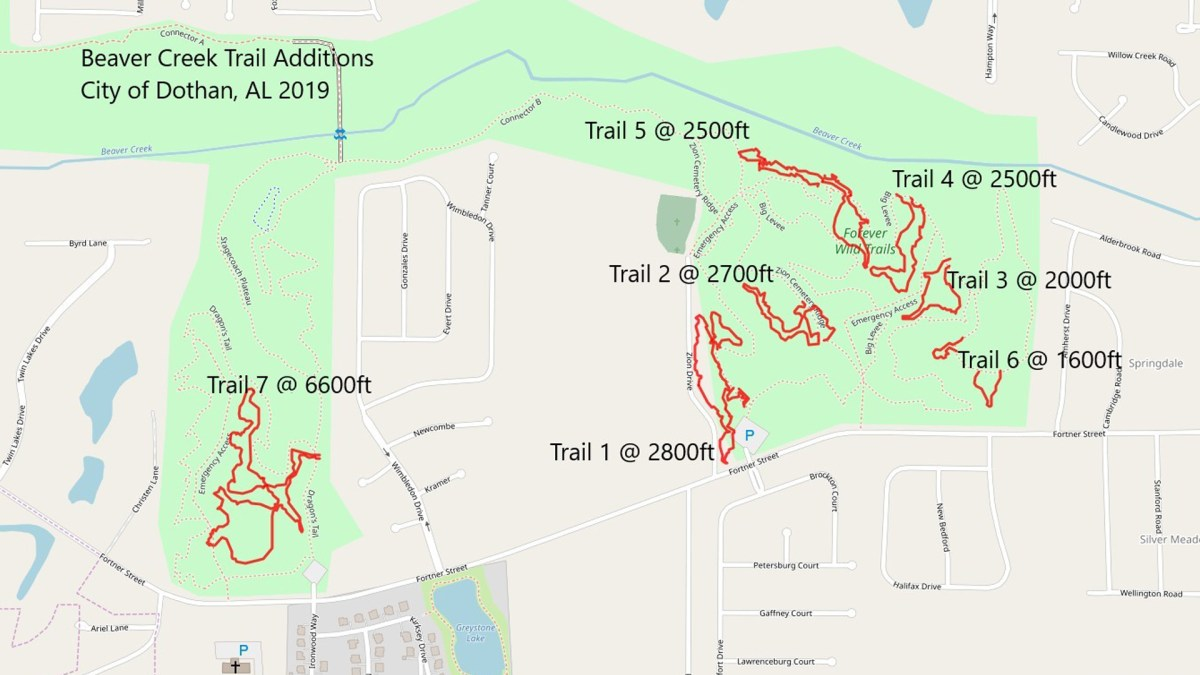 Forever Wild Trails 4 Mile Extension