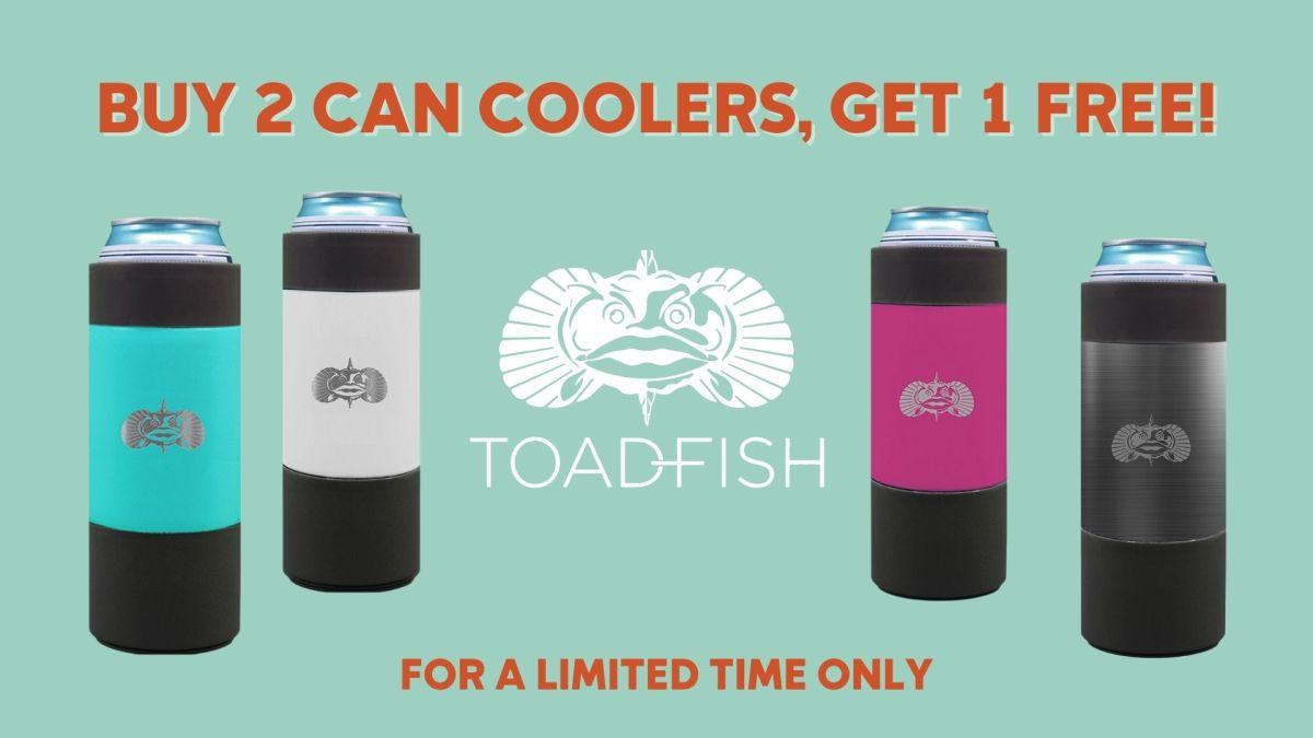 Buy 2 Get 1 Toadfish