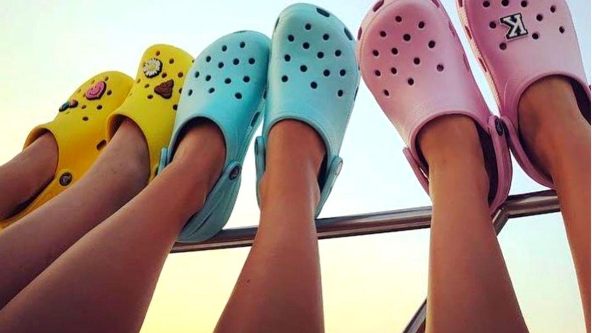 People Wearing Crocs